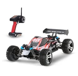 Wltoys A959 Upgraded Version 1/18 2.4G Remote Control 4WD Buggy