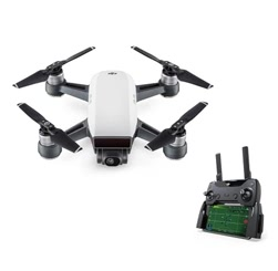 DJI Spark 12MP 1080P FPV Fly More Combo Aerial Photography with Remote Controller