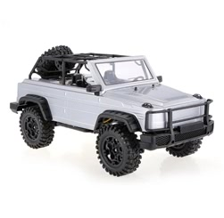HG-P402 2.4G 1/10 4WD Two Speed Switch Gearbox Adjustable Wheelbase Rock Crawler