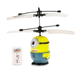 SJ880 Minions Figure Single-eyed Infrared Controlled Hand Sense Control RC Toy